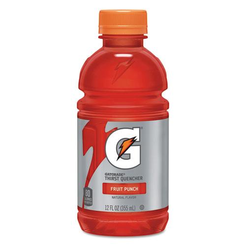 Gatorade® G-Series Perform 02 Thirst Quencher, Fruit Punch, 12 oz Bottle, 24/Carton