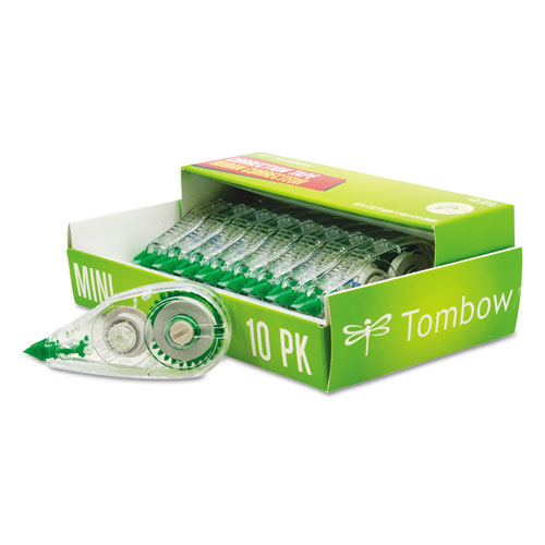 MONO Mini Correction Tape, 1/6 x 315, Non-Refillable, 10/Pack