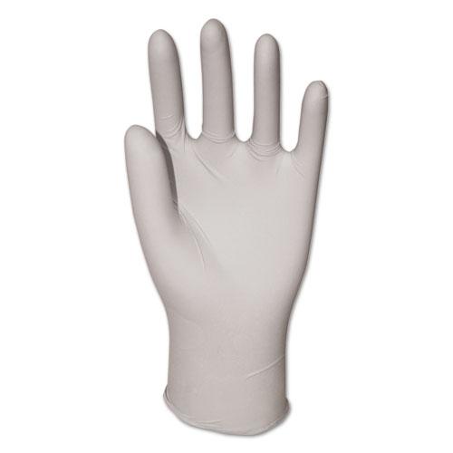 General-Purpose Vinyl Gloves, Powdered, Large, Clear, 2 3/5 mil, 1000/Carton