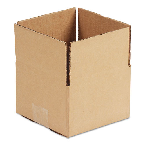 Fixed-Depth Shipping Boxes, Regular Slotted Container (RSC), 10 x 8 x 6, Brown Kraft, 25/Bundle