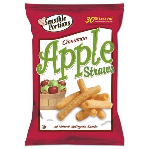 Sensible Portions® Apple Straws, Apple Cinnamon, 1 oz Bag