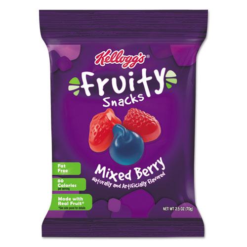 Kellogg's® Fruity Snacks, Mixed Berry, 2.5oz Bag, 48/Carton