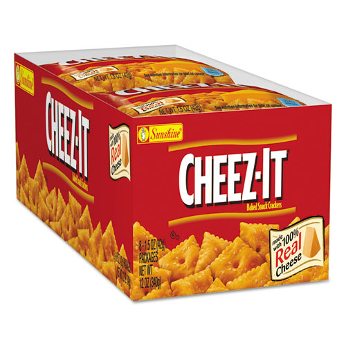 Sunshine Cheez it Crackers 15 oz Bag Reduced Fat 60Carton