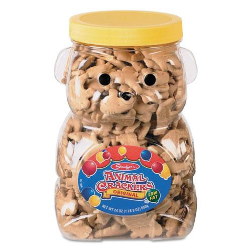 Stauffer's® Animal Crackers, 24 oz Jar