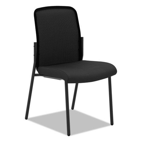 VL508 Mesh Back Multi-Purpose Chair, Black Seat/Black Back, Black Base   by Plexsupply