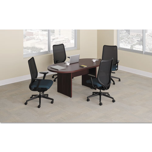 HON Preside Racetrack Conference Table Top X Mahogany - 72 x 36 conference table