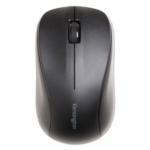 Wireless Mouse for Life, 2.4 GHz Frequency/30 ft Wireless Range, Left/Right Hand Use, Black | by Plexsupply