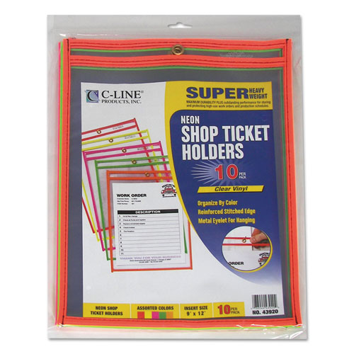 Cli43920 C Line Stitched Shop Ticket Holder Zuma