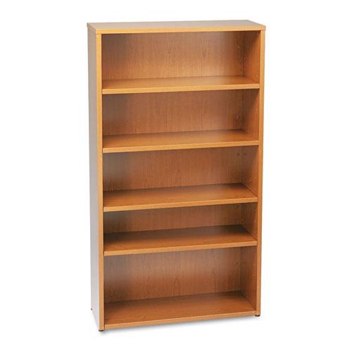HON® BL Laminate Series Five Shelf Bookcase, 32w x 13 13/16d x 65 3/8h, Medium Cherry