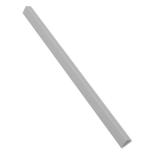 Slide N Grip Binding Bars, White, 11 x 1/2, 100/Box