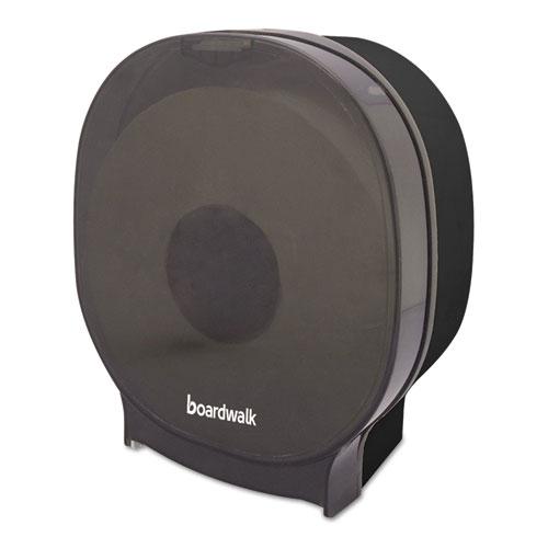 Single Jumbo Toilet Tissue Dispenser, 1 Jumbo Roll, Smoke Black,5.562x10x11 7/8
