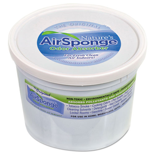 Air Sponge Odor Absorber ~ Sponge odor absorber neutral oz tub thegreenoffice