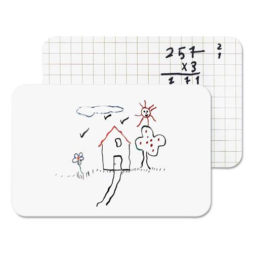 Dry Erase Lap Board, 11 7/8 x 8 14, Frameless   by Plexsupply