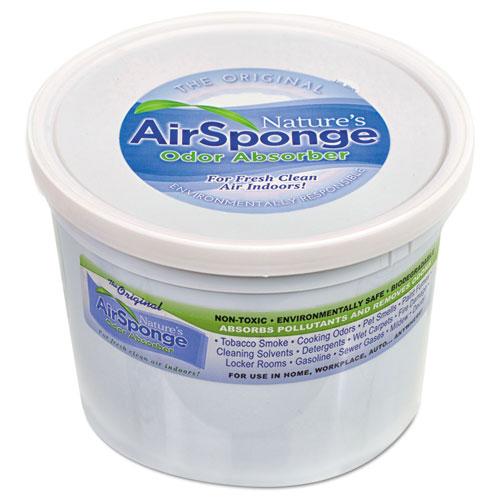 Sponge Odor Absorber, Neutral, 64 oz, 4/Carton | by Plexsupply