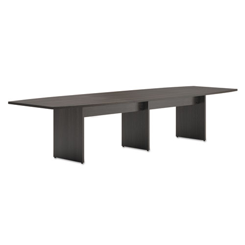 Shop For BL Laminate Series BoatShaped Modular Conference Table End - Espresso conference table