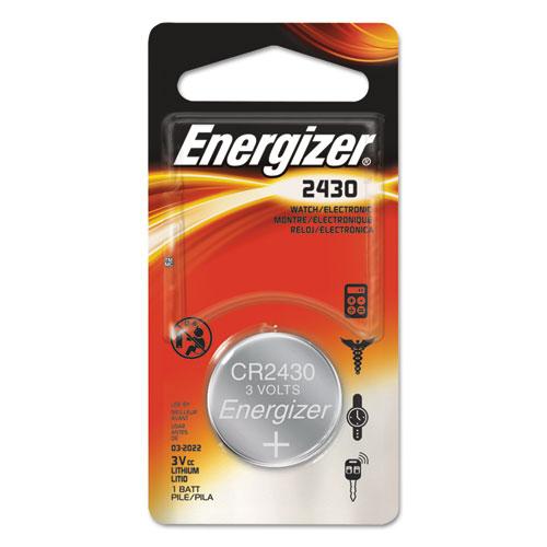 Energizer® 2430 Lithium Coin Battery, 3V