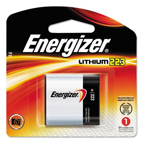 Energizer® 223 Lithium Photo Battery, 6V