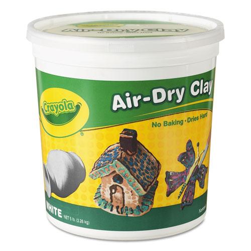 Crayola® Air-Dry Clay, White, 25lb Box