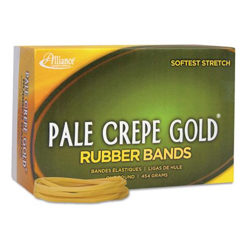 pale crepe gold rubber bands sz 33 3 1 2 x 1 8 1lb box. Black Bedroom Furniture Sets. Home Design Ideas