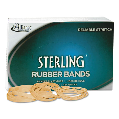 "Sterling Rubber Bands, Size 31, 0.03"" Gauge, Crepe, 1 lb Box, 1,200/Box 