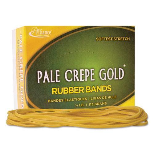 pale crepe gold rubber bands sz 117b 7 x 1 8 1lb box. Black Bedroom Furniture Sets. Home Design Ideas
