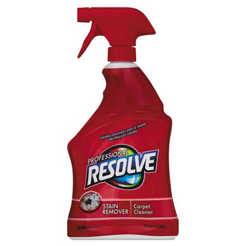 Professional RESOLVE® Carpet Cleaner, 32oz Spray Bottles, 12/Carton