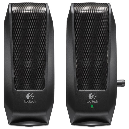S120 2.0 Multimedia Speakers, Black | by Plexsupply