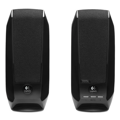S150 2.0 USB Digital Speakers, Black | by Plexsupply