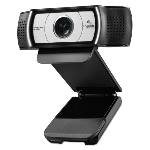 C930e HD Webcam, 1920 pixels x 1080 pixels, 2 Mpixels, Black | by Plexsupply