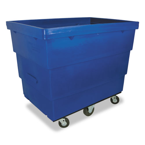 Small Recycle Cart, 25 x 35 1/2 x 33 1/2, 1000 lbs. Capacity, Blue