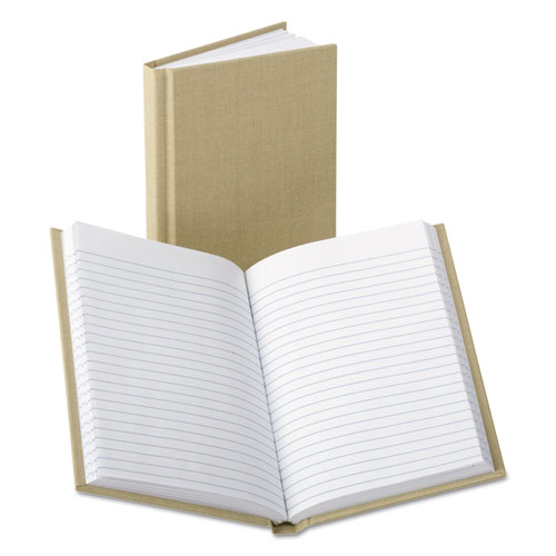 Bound Memo Books, Narrow Rule, 7 x 4.13, White, 96 Sheets | by Plexsupply
