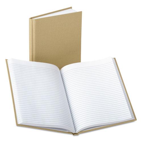 Bound Memo Books, Narrow Rule, 9 x 5.88, White, 96 Sheets | by Plexsupply