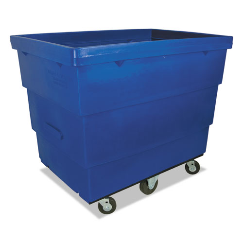Large Recycle Cart, 29 x 43 1/2 x 37, 1000 lbs. Capacity, Blue