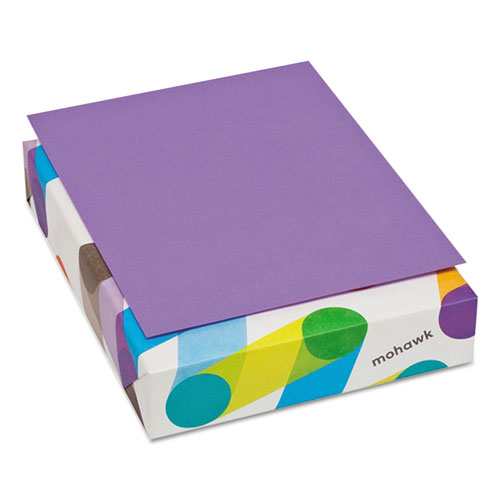 britehue multipurpose colored paper 24lb 8 12 x 11 violet 500 sheets - Colored Paper Printable