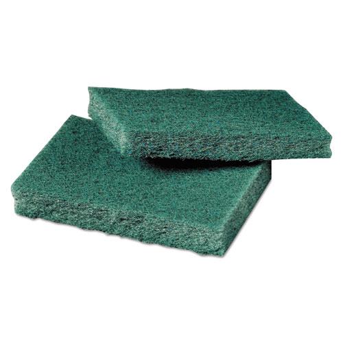 Scotch-Brite™ PROFESSIONAL General Purpose Scrub Pad, 3 x 4 1/2, Green, 40 per Box/2 Boxes per Carton
