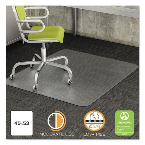 Merveilleux DuraMat Moderate Use Chair Mat, Low Pile Carpet, Roll, 45 X 53,