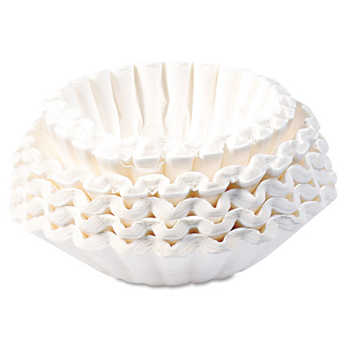 Commercial Coffee Filters, 12-Cup Size, 1000/Carton | by Plexsupply