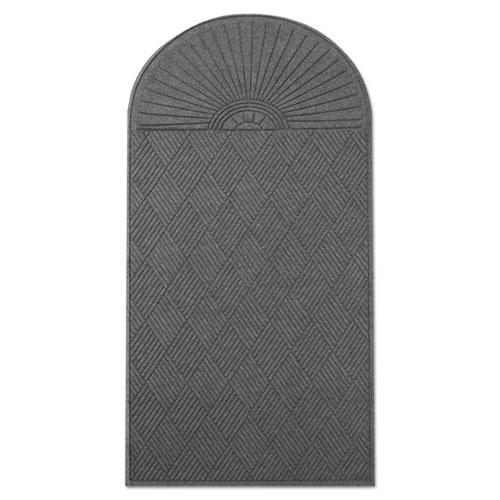 Ecoguard Diamond Floor Mat Single Fan 48 X 96 Charcoal