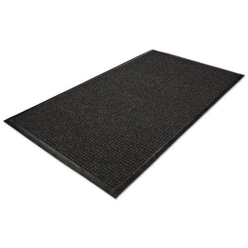 WaterGuard Wiper Scraper Indoor Mat, 36 x 60, Charcoal | by Plexsupply
