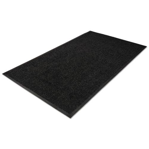 Platinum Series Indoor Wiper Mat, Nylon/Polypropylene, 48 x 72, Black | by Plexsupply