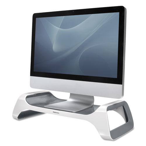 Fellowes® I-Spire Series Monitor Lift Riser, 20 x 8 7/8 x 4 7/8, White/Gray