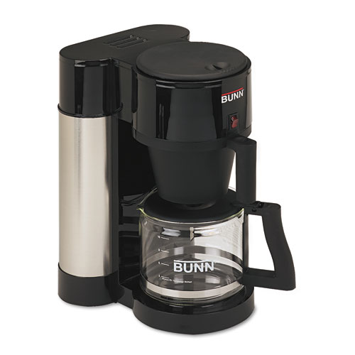 Bunn 10-Cup Home Coffee Brewer, Stainless Steel, Black at Sears.com