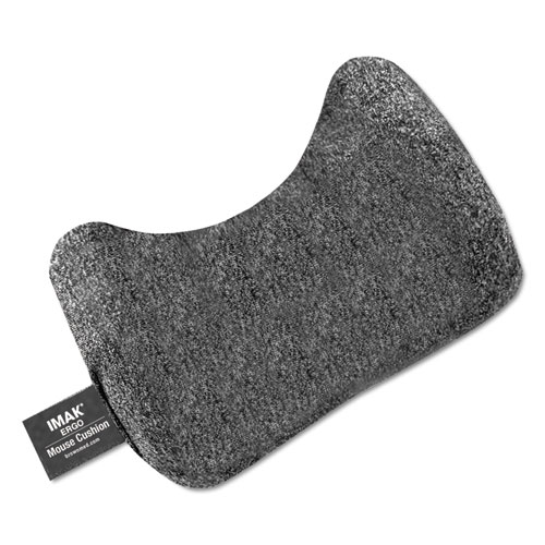 Mouse Wrist Cushion, Gray | by Plexsupply