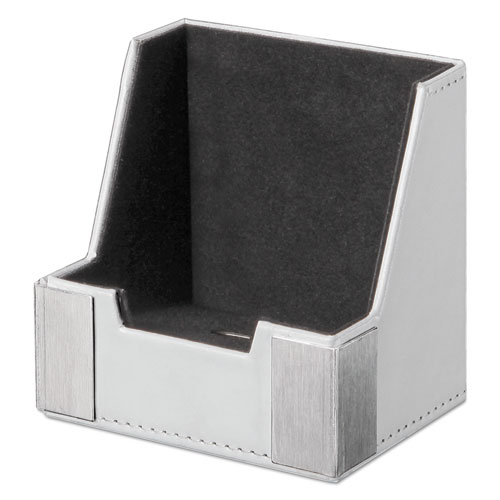 Architect Tech Cup Cell Phone Holder, White/Silver ART43024WH