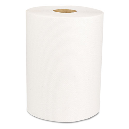 Boardwalk Green Universal Roll Towels, Natural White, 8x425ft, 12 Rolls/Carton