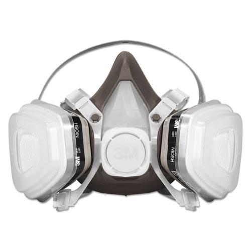 Half Facepiece Disposable Respirator Assembly