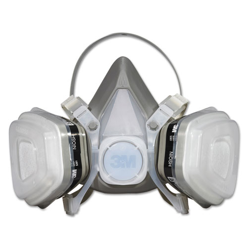 Dual Cartridge Respirator Assembly 52P71, Organic Vapor/P95, Medium 52P71