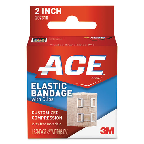 Elastic Bandage with E-Z Clips, 2 x 50