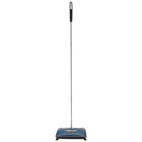Oreck Commercial Restaurateur Wet/Dry Floor Sweeper, Blue, 9 1/2 x 8 x 43 1/2