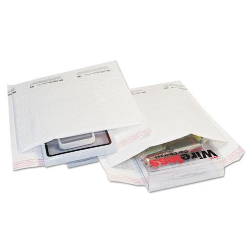 TuffGard Self-Seal Cushioned Mailer, 5, Barrier Bubble Lining, Self-Adhesive Closure, 10.5 x 16, White, 100/Carton